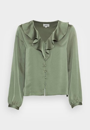 ONLSISSE  LIFE FRILL BLOUSE - Bluser - sea spray