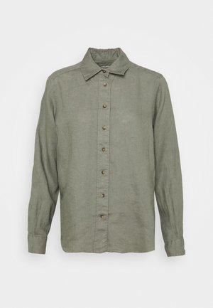 SAFARI - Button-down blouse - khaki