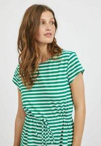 Vila - VIMOONEY STRING - Jersey dress - pepper green - 3