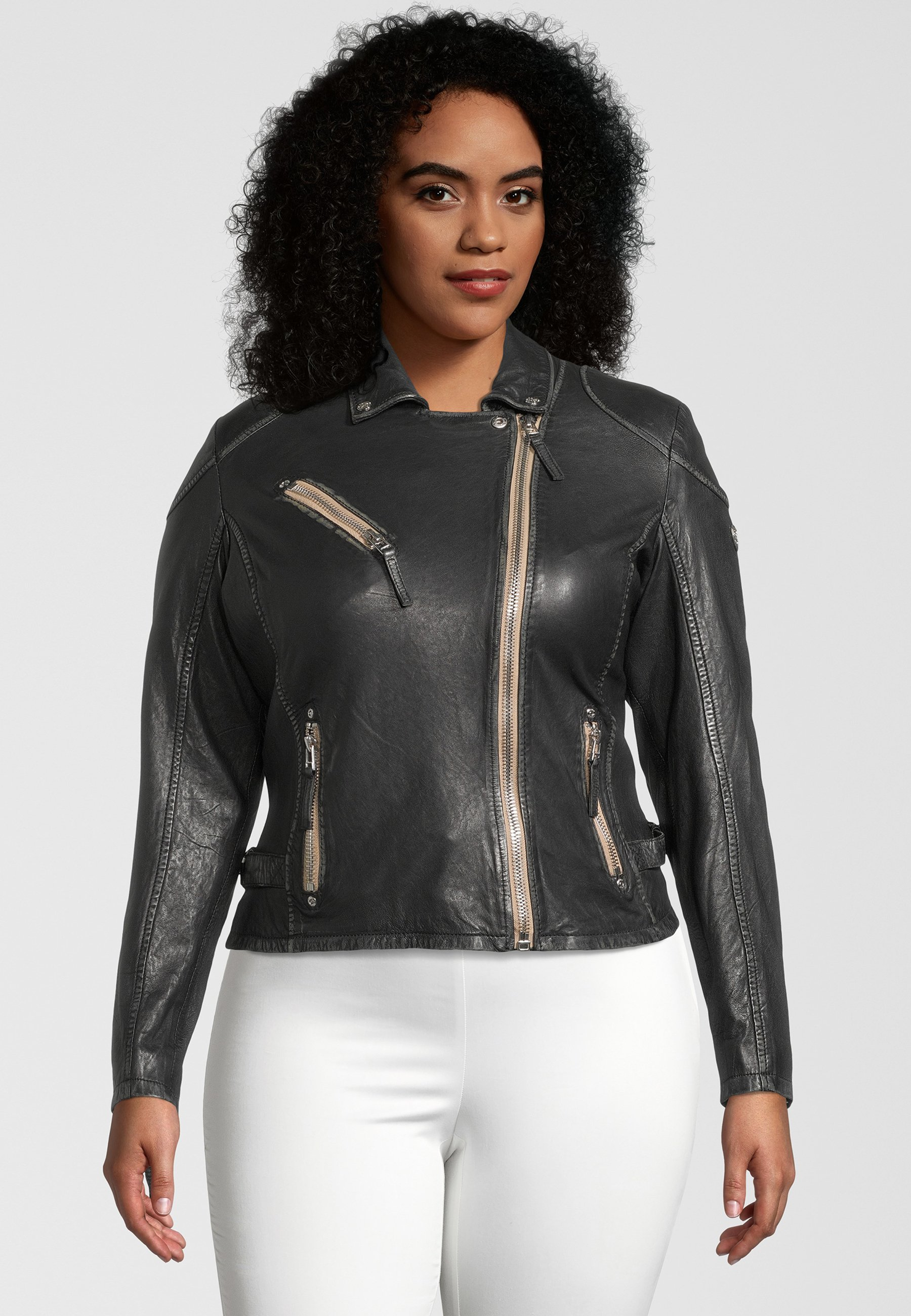 Femme PGG W20 CF LABAGV - Veste en cuir