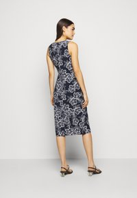 Lauren Ralph Lauren - PRINTED MATTE DRESS - Jerseyklänning - lighthouse navy - 2