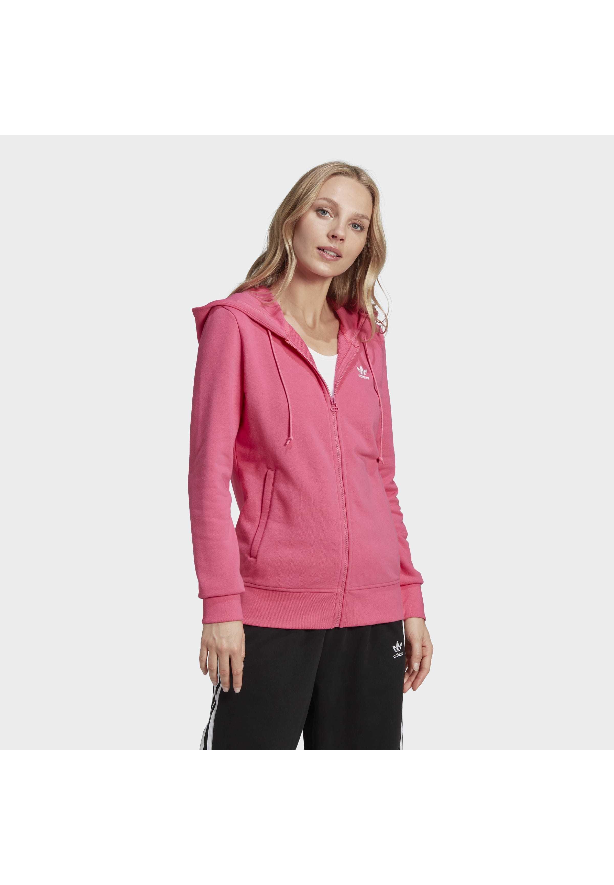 adidas Originals TREFOIL SPORTS INSPIRED SLIM TRACK TOP - Hoodie met rits - pink - Dames jas Actueel