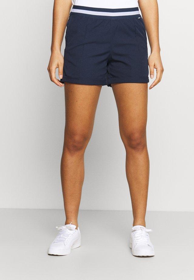 ELASTIC SHORT - Korte sportsbukser - navy blazer