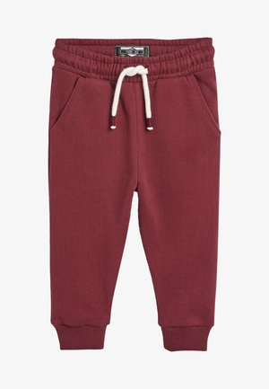 Tracksuit bottoms - berry