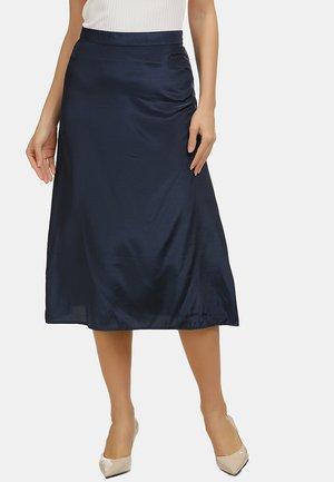 ROCK - A-line skirt - marine