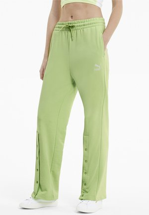 Tracksuit bottoms - sharp green