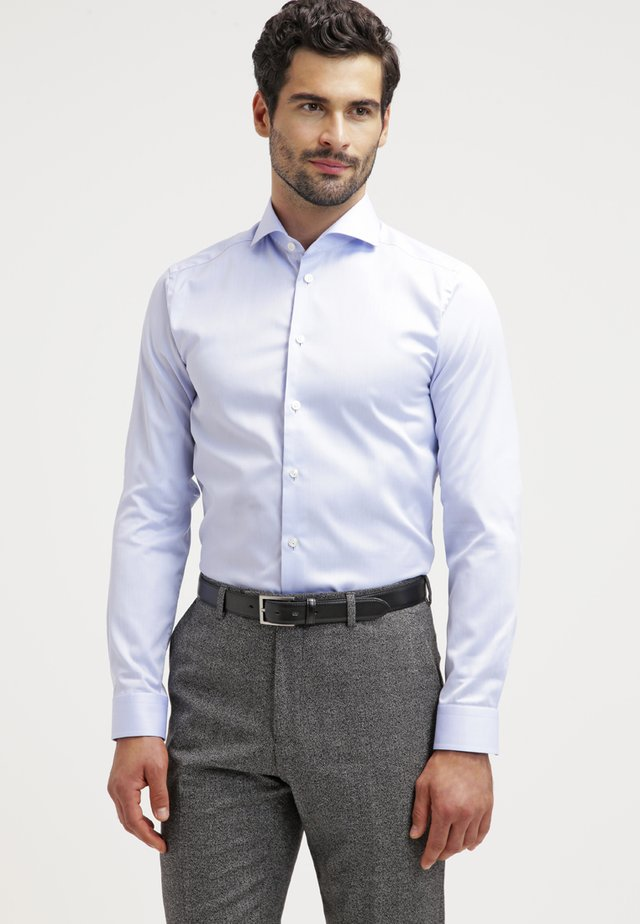 SUPER SLIM FIT - Finskjorte - blue