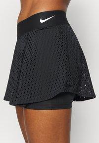 Nike Performance - DRY SKIRT - Sportovní sukně - black/white - 4