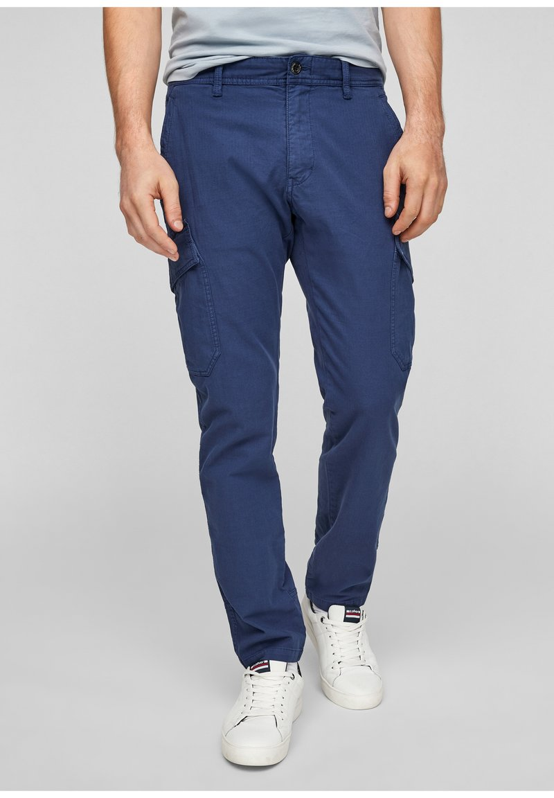 s.Oliver - Cargo trousers - blue