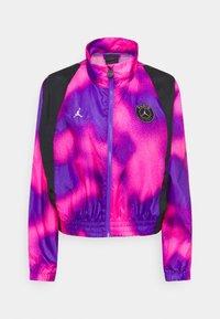 JORDAN PARIS ST GERMAIN WARM UP - Klubové oblečení - psychic purple/black
