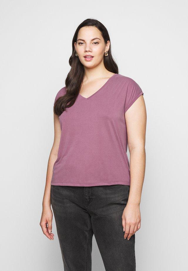PCKAMALA TEE - T-shirt basic - dry rose
