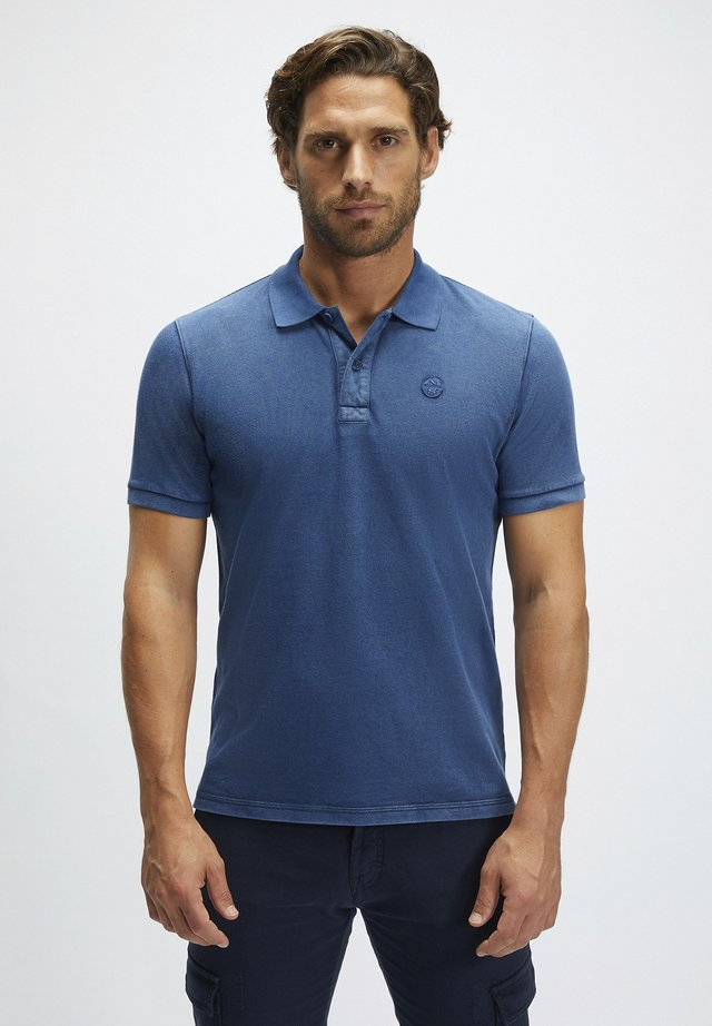 Polo shirt - ocean blue