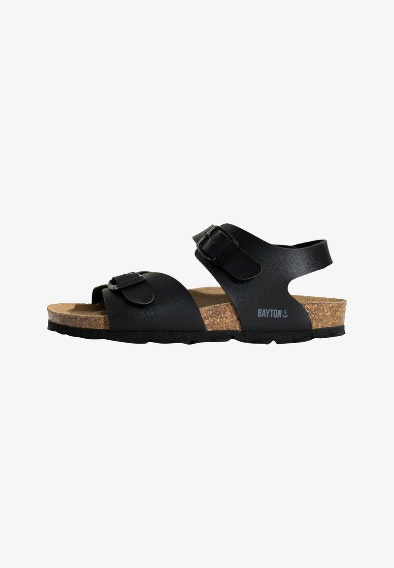 BAYTON - Sandals - black