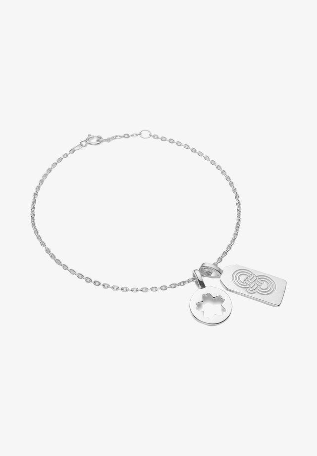 OMAMORI SAKURA BRACELET - Armband - silber