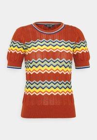 AGNES TOLUCA - Print T-shirt - umbre
