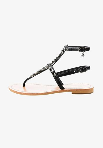 CAVOLA - T-bar sandals - black