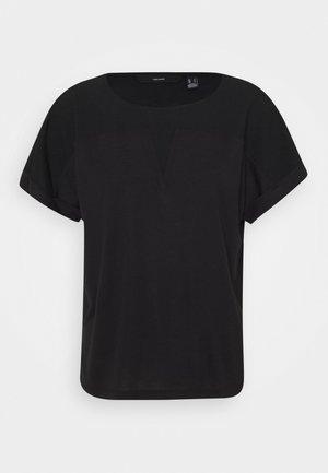 VMELLEN TOP - Camiseta básica - black