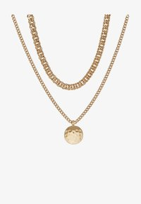 Topshop - SHELL INLY DISC 2 PACK - Necklace - gold-coloured - 3