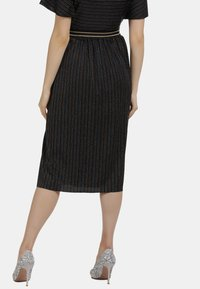 myMo at night - A-line skirt - schwarz multicolor - 2
