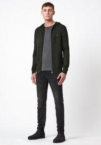 AllSaints - MODE - Zip-up hoodie - dark green - 1