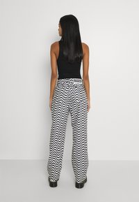 The Ragged Priest - WAVE - Džíny Relaxed Fit - white/black - 2