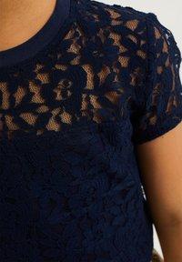 WE Fashion - T-shirt print - dark blue - 2