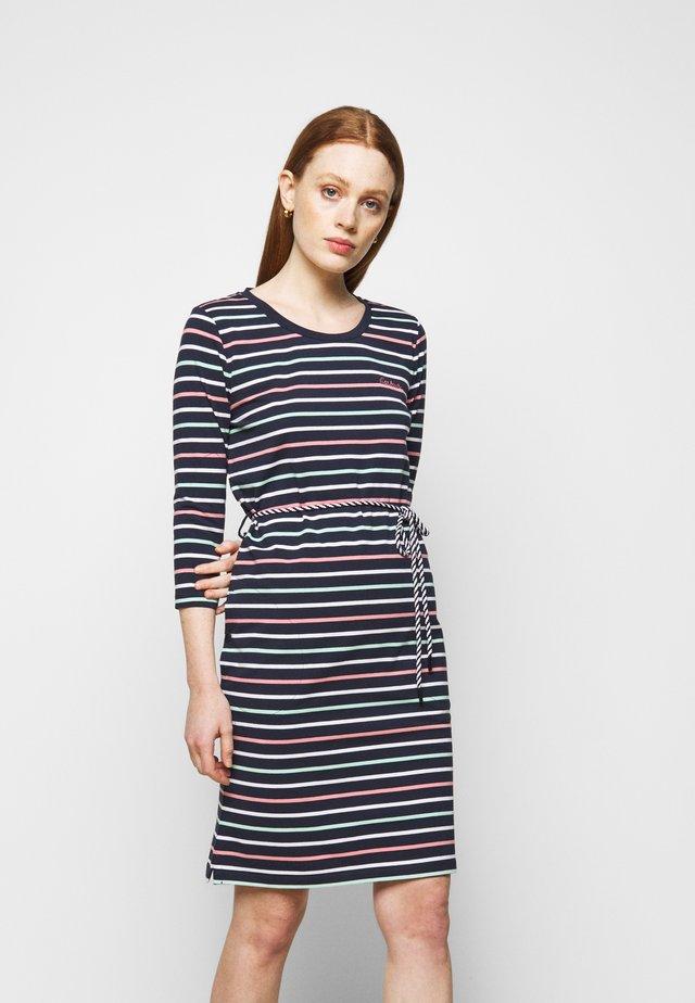 APPLECROSS DRESS - Sukienka z dżerseju - navy