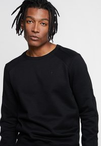 G-Star - MOTAC SLIM - Sweatshirt - dark black - 3