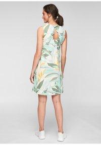 s.Oliver - MET RUGHALS - Jersey dress - cream aop - 2