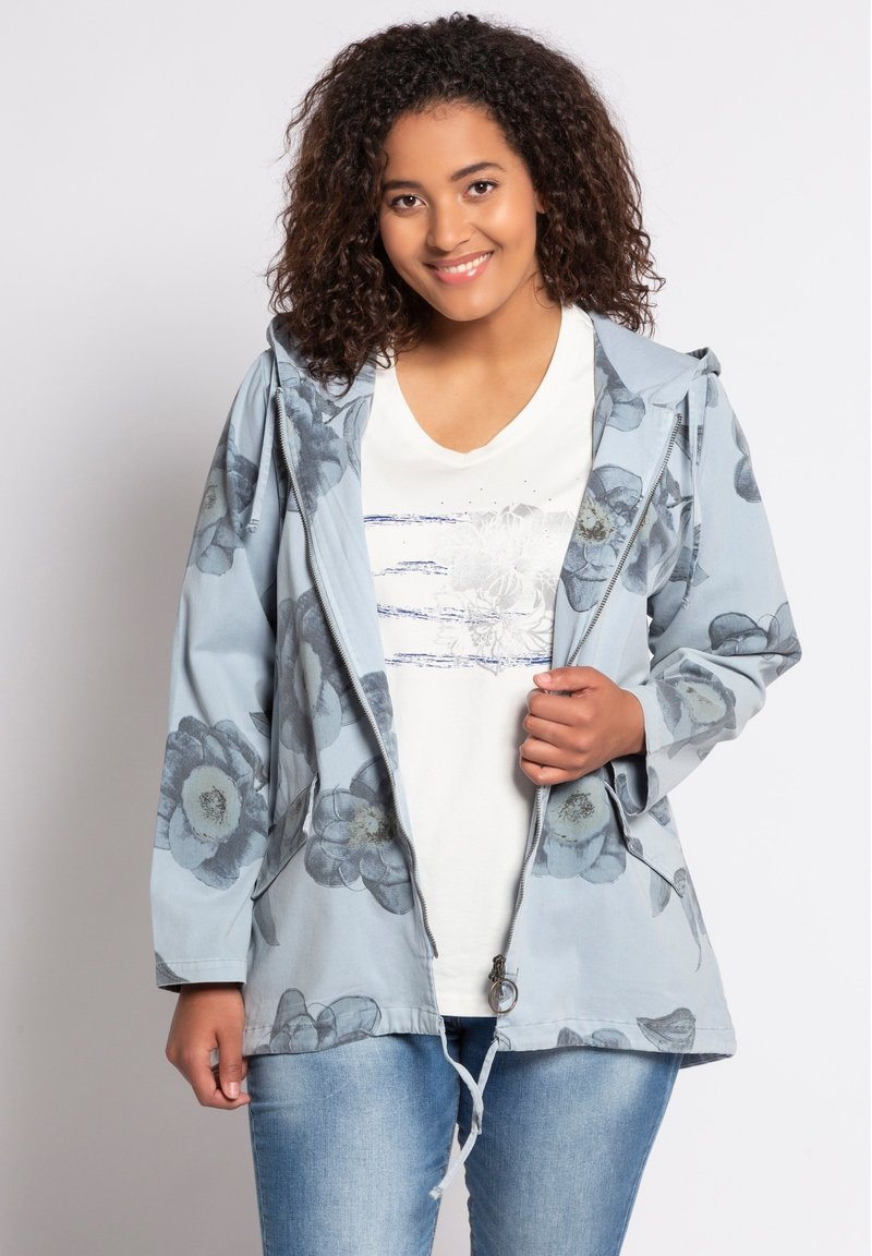 Ulla Popken - Summer jacket - eisblau
