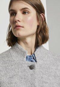 TOM TAILOR - Short coat - mid grey melange - 4