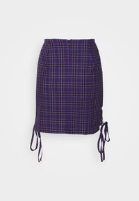 The Ragged Priest - CHECK MINI SKIRT - Minihame - purple - 6