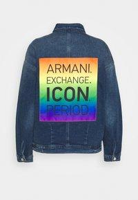 Armani Exchange - BLOUSON JACKET - Denim jacket - indigo denim - 1