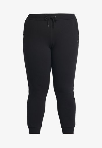 ONPELINA PANTS CURVY  - Joggebukse - black