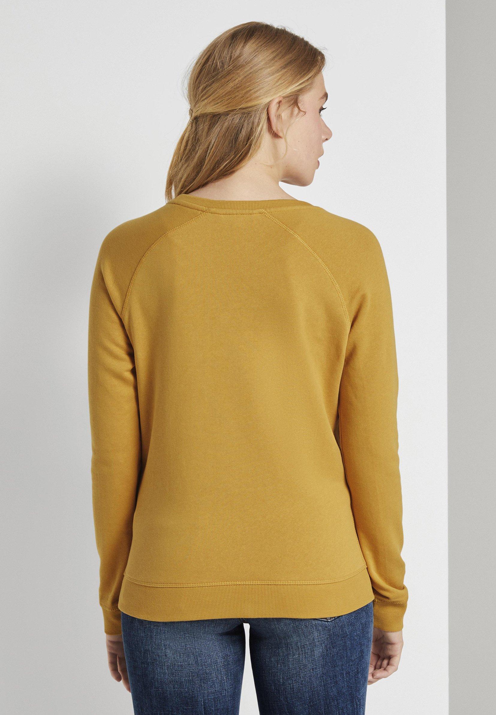 TOM TAILOR DENIM RAGLAN - Sweater - indian spice yellow - Dames jas Opruiming
