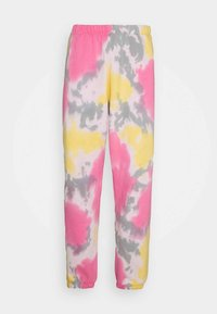 Obey Clothing - SUSTAINABLE TIE DYE - Tracksuit bottoms - yellow/multi - 0