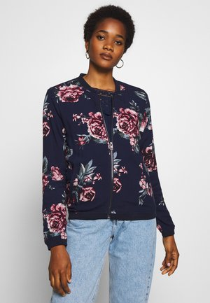 ONLNOVA - Bomber Jacket - night sky/rose