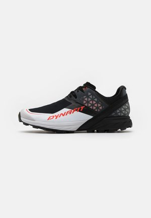ALPINE DNA - Trail running shoes - black out/orange