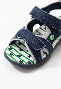 Walnut - BOUNCE - Walking sandals - dark blue - 2