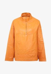 THEKLA - Leather jacket - mango