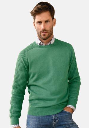 RUNDHALS - Maglione - grün