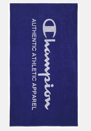 TOWEL LEISURE WEAR - Telo mare - blue/white