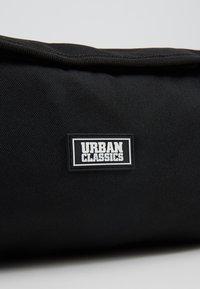 Urban Classics - COSMETIC POUCH - Wash bag - black - 2