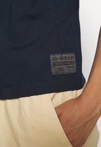 G-Star - UTILITY STRAP TOP S\LESS - Blůza - mazarine blue - 5