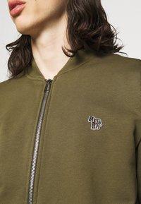 PS Paul Smith - MENS ZIP BOMBER - Zip-up sweatshirt - khaki - 4