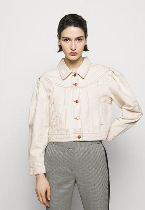 VANISE - Denim jacket - vanille