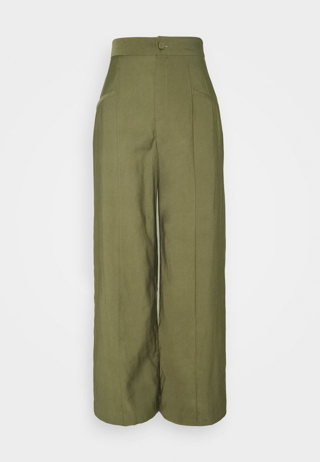 ADDICTED TO YOU PANT - Kangashousut - khaki