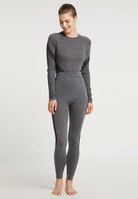 PYUA - Leggings - grey melange - 1