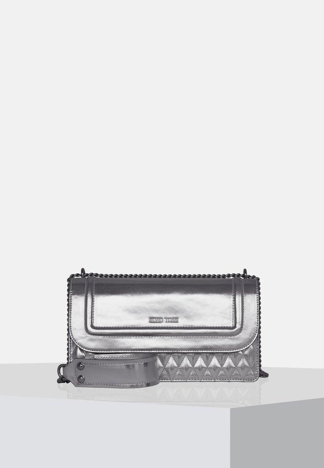 Käsilaukku - metallic-silver