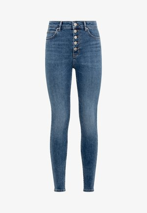 CANDIANI - Jeans Skinny Fit - middle blue denim